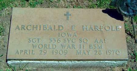 HARPOLE, ARCHIBALD EMMANUEL - Madison County, Iowa | ARCHIBALD EMMANUEL HARPOLE