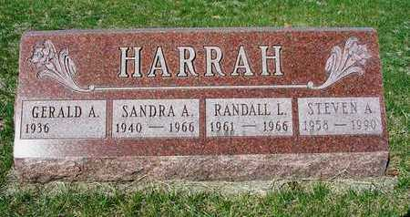 HARRAH, SANDRA ANN - Madison County, Iowa | SANDRA ANN HARRAH