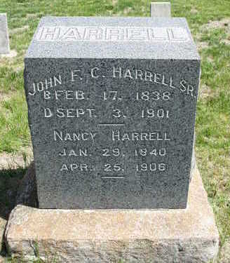 HARRELL, JOHN FLAVEL CARR, SR. - Madison County, Iowa | JOHN FLAVEL CARR, SR. HARRELL