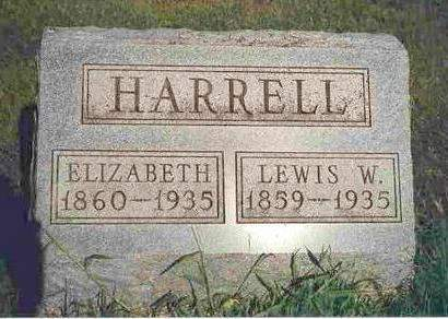 HARRELL, MARIA ELIZABETH - Madison County, Iowa | MARIA ELIZABETH HARRELL