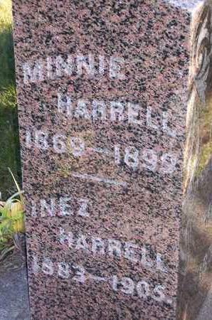 HARRELL, MINNIE - Madison County, Iowa | MINNIE HARRELL