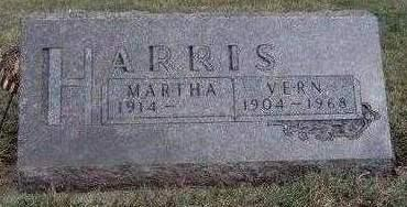HARRIS, MARTHA A. - Madison County, Iowa | MARTHA A. HARRIS