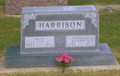 HARRISON, CLYDE IDLE - Madison County, Iowa | CLYDE IDLE HARRISON