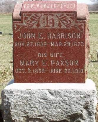 HARRISON, JOHN ELLIS - Madison County, Iowa | JOHN ELLIS HARRISON