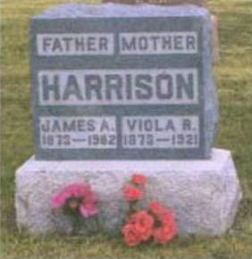HARRISON, JAMES ALBERT - Madison County, Iowa | JAMES ALBERT HARRISON