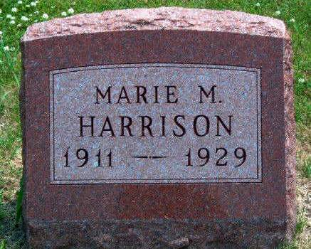 HARRISON, MABEL MARIE - Madison County, Iowa | MABEL MARIE HARRISON