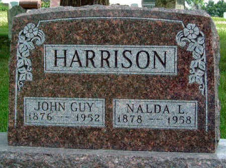 HARRISON, JOHN GUY - Madison County, Iowa | JOHN GUY HARRISON