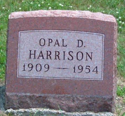 HARRISON, OPAL DARLENE - Madison County, Iowa | OPAL DARLENE HARRISON
