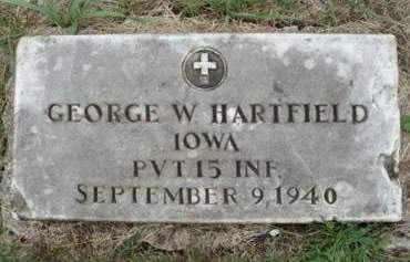 HARTFIELD, GEORGE W. - Madison County, Iowa | GEORGE W. HARTFIELD