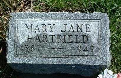 MCMICHAEL HARTFIELD, MARY JANE - Madison County, Iowa | MARY JANE MCMICHAEL HARTFIELD