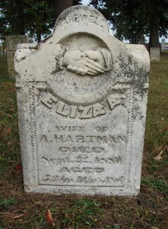 DAY HARTMAN, ELIZA ANN - Madison County, Iowa | ELIZA ANN DAY HARTMAN