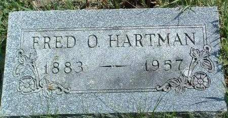 HARTMAN, FRED ORVILLE - Madison County, Iowa | FRED ORVILLE HARTMAN