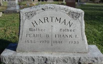 HARTMAN, FRANK LOUIS - Madison County, Iowa | FRANK LOUIS HARTMAN