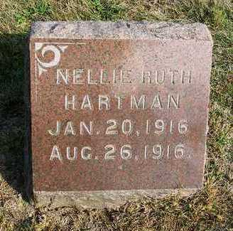 HARTMAN, NELLIE RUTH - Madison County, Iowa | NELLIE RUTH HARTMAN