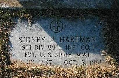 HARTMAN, SIDNEY J. - Madison County, Iowa | SIDNEY J. HARTMAN