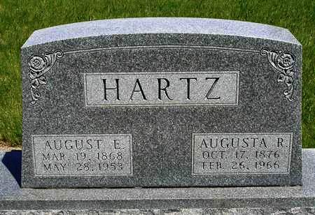 HARTZ, AUGUST ERNEST - Madison County, Iowa | AUGUST ERNEST HARTZ