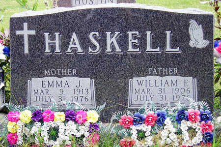 HASKELL, WILLIAM FREDERICK - Madison County, Iowa | WILLIAM FREDERICK HASKELL