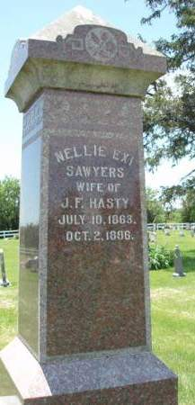 HASTY, NELLIE E. - Madison County, Iowa | NELLIE E. HASTY