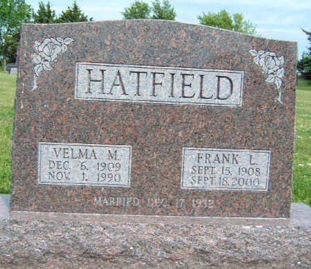 HATFIELD, VELMA M. - Madison County, Iowa | VELMA M. HATFIELD