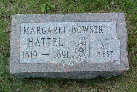 BOWSER HATTEL, MARGARET - Madison County, Iowa | MARGARET BOWSER HATTEL