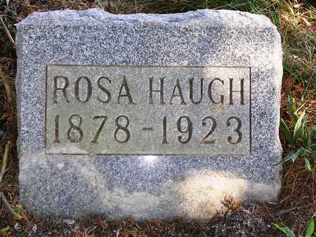 HAUGH, ROSA A. - Madison County, Iowa | ROSA A. HAUGH