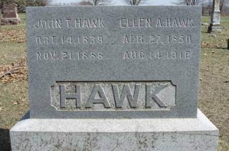 TRAPPER HAWK, ELLEN AUGUSTA - Madison County, Iowa | ELLEN AUGUSTA TRAPPER HAWK