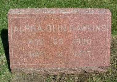 HAWKINS, ALPHA OLIN - Madison County, Iowa | ALPHA OLIN HAWKINS
