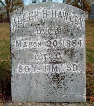 HAWLEY, ALLEN HAYES - Madison County, Iowa | ALLEN HAYES HAWLEY