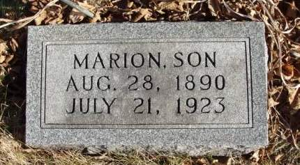 HAXTON, CHARLES MARION - Madison County, Iowa | CHARLES MARION HAXTON