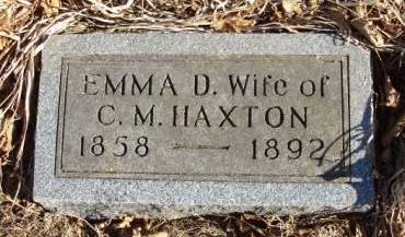 CLEMENTS HAXTON, EMMAZETA DEMERIS (EMMA) - Madison County, Iowa | EMMAZETA DEMERIS (EMMA) CLEMENTS HAXTON
