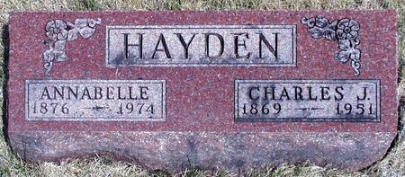 FIELD HAYDEN, ANNABELLE - Madison County, Iowa | ANNABELLE FIELD HAYDEN