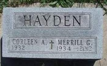 HAYDEN, MERRILL GAIL - Madison County, Iowa | MERRILL GAIL HAYDEN