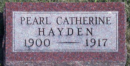 HAYDEN, PEARL CATHERINE - Madison County, Iowa | PEARL CATHERINE HAYDEN
