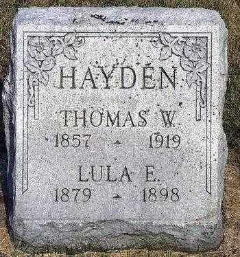HAYDEN, THOMAS WILLIAM - Madison County, Iowa | THOMAS WILLIAM HAYDEN