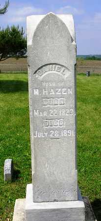 HAZEN, DANIEL - Madison County, Iowa | DANIEL HAZEN