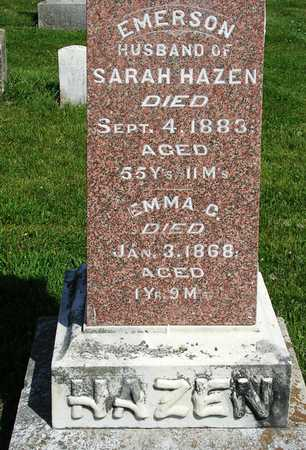 HAZEN, EMMA C. - Madison County, Iowa | EMMA C. HAZEN