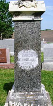 HAZEN, EMEROUS - Madison County, Iowa   EMEROUS HAZEN