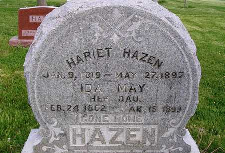 HAZEN, HARIET - Madison County, Iowa | HARIET HAZEN