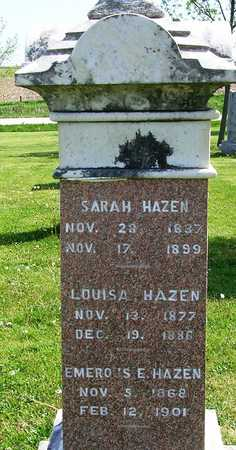HAZEN, LOUISA - Madison County, Iowa | LOUISA HAZEN