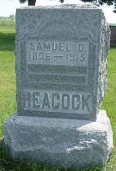 HEACOCK, SAMUEL C. - Madison County, Iowa | SAMUEL C. HEACOCK