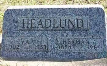 HEADLUND, HERMAN A. - Madison County, Iowa | HERMAN A. HEADLUND