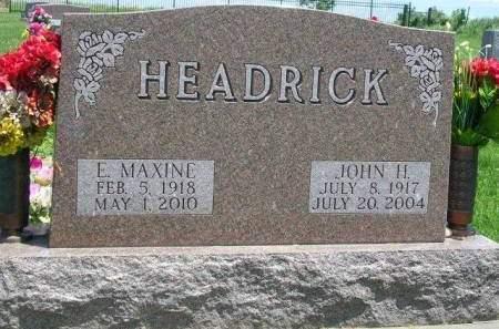 HEADRICK, EVA MAXINE - Madison County, Iowa | EVA MAXINE HEADRICK