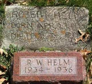 HELM, ROBERT WILLIAM - Madison County, Iowa | ROBERT WILLIAM HELM