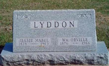 HENRY LYDDON, JESSIE MABEL - Madison County, Iowa | JESSIE MABEL HENRY LYDDON
