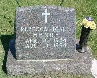 HENRY RUSTAN, REBECCA JOANN - Madison County, Iowa | REBECCA JOANN HENRY RUSTAN