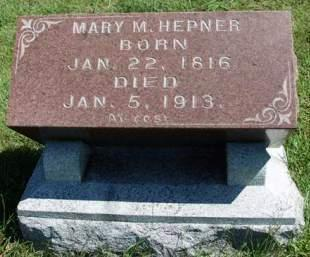 HEPNER, MARY METHENE - Madison County, Iowa | MARY METHENE HEPNER