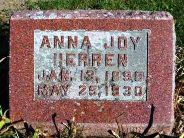 CROSS HERREN, ANNA JOY - Madison County, Iowa | ANNA JOY CROSS HERREN