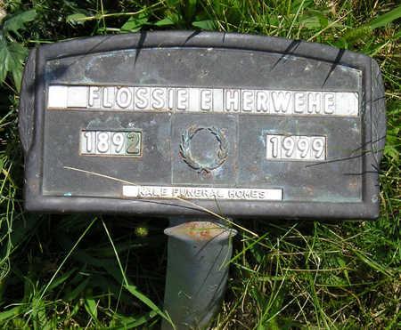 HERWEHE, FLOSSIE EDNA - Madison County, Iowa | FLOSSIE EDNA HERWEHE
