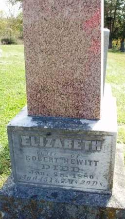 HEWITT, ELIZABETH - Madison County, Iowa | ELIZABETH HEWITT