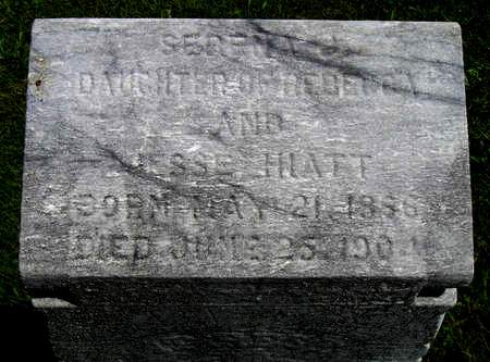 HIATT, SERENA JANE - Madison County, Iowa | SERENA JANE HIATT